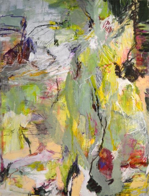 Garten (2012) Öl auf Leinwand 140 cm x 170 cm