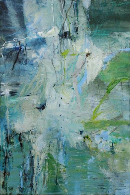 Ohne Titel (2010) Öl auf Leinwand 120 cm x 180 cm