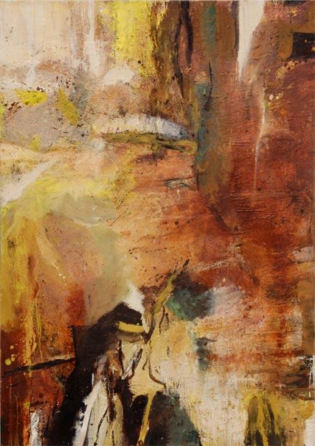 Ohne Titel (2010) Öl auf Leinwand 120 cm x 170 cm