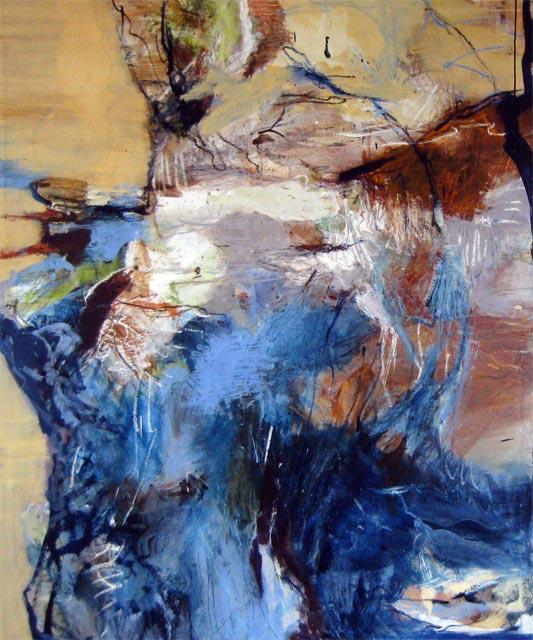 Ohne Titel (2011) Öl auf Leinwand 130 cm x 170 cm