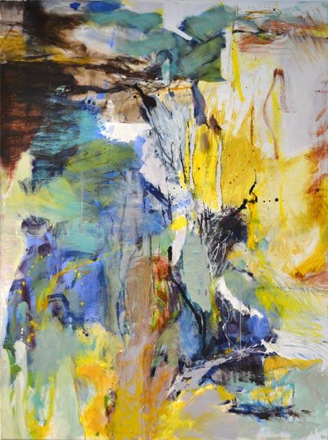 Ohne Titel (2012) Eitempera 120 cm x 170 cm