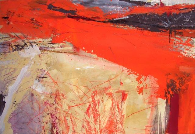 Das Leben ist schön (2003) Öl auf Leinwand 250 cm x 170 cm